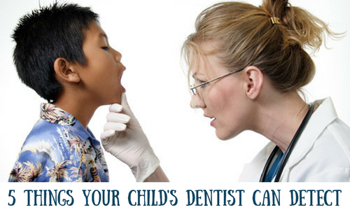 5 Things Your Child's Dentist Can Detect (Aside from Cavities)- dr. schwartz - toronto children's dentist